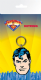 Superman Face PVC flexible keyring (ge)